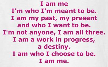 i am special i am me