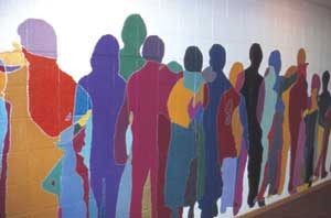 Mural Project led by David Genszler
